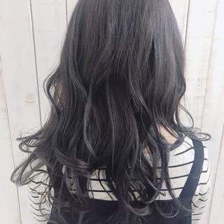 ダークグレー グレージュ 外国人風カラー グラデーションカラー ヘアスタイルや髪型の写真・画像 ヘアスタイルや髪型の写真・画像