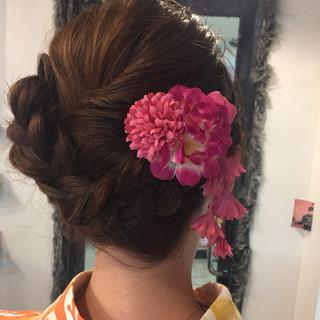 結婚式 ヘアアレンジ 成人式 アンニュイほつれヘア ヘアスタイルや髪型の写真・画像
