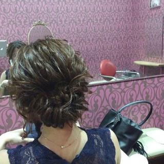 エレガント 結婚式 上品 ボブ ヘアスタイルや髪型の写真・画像 ヘアスタイルや髪型の写真・画像