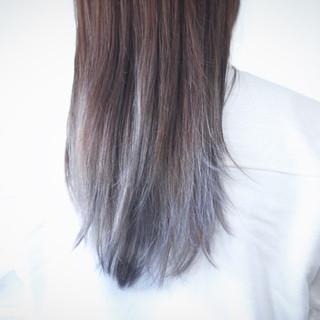 ミルクティーグレージュ ラベンダーグレージュ グレージュ アッシュグレージュ ヘアスタイルや髪型の写真・画像