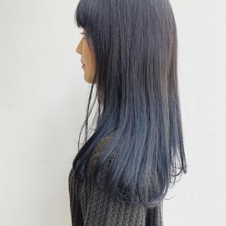 フェミニン グレージュ アッシュグラデーション インナーカラー ヘアスタイルや髪型の写真・画像