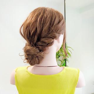 アップスタイル ヘアセット お団子ヘア ロング ヘアスタイルや髪型の写真・画像 | 美容師HIRO/Amoute代表 / Amoute/アムティ