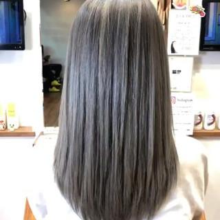 エレガント バレイヤージュ 成人式 外国人風カラー ヘアスタイルや髪型の写真・画像