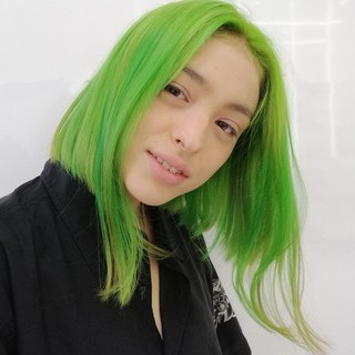 外国人風カラー ストリート ブリーチ ブリーチカラー ヘアスタイルや髪型の写真・画像