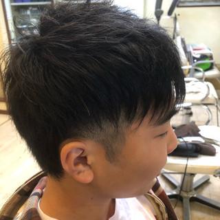 簡単ヘアアレンジ ストリート メンズ 坊主 ヘアスタイルや髪型の写真・画像