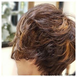 モード かりあげ まとまるボブ ボブ ヘアスタイルや髪型の写真・画像