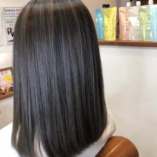 大人女子 結婚式 メッシュ 外国人風カラー ヘアスタイルや髪型の写真・画像
