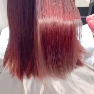 セミロング ツヤ髪 大人かわいい 大人女子 ヘアスタイルや髪型の写真・画像