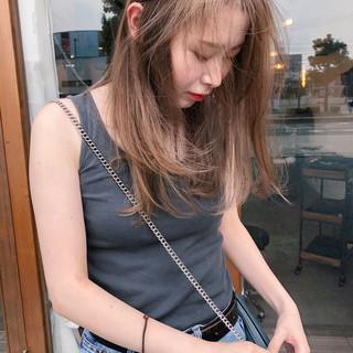 ストリート セミロング 簡単ヘアアレンジ ヘアアレンジ ヘアスタイルや髪型の写真・画像