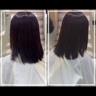 ナチュラル 髪質改善カラー ロング 髪質改善 ヘアスタイルや髪型の写真・画像