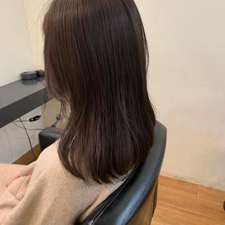 ゆるふわ イルミナカラー 韓国風ヘアー ナチュラル ヘアスタイルや髪型の写真・画像