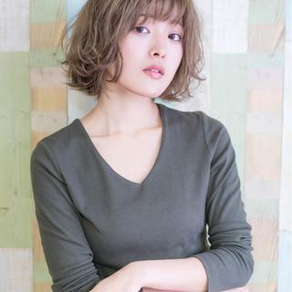 ウェーブ デート 抜け感 女子力 ヘアスタイルや髪型の写真・画像