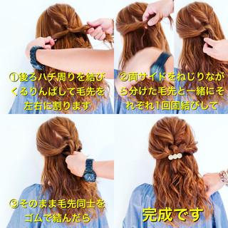 上品 簡単ヘアアレンジ ヘアアレンジ エレガント ヘアスタイルや髪型の写真・画像