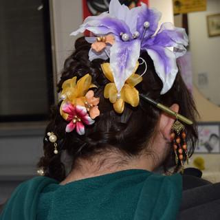 成人式ヘアメイク着付け 成人式ヘア ヘアアレンジ ロング ヘアスタイルや髪型の写真・画像