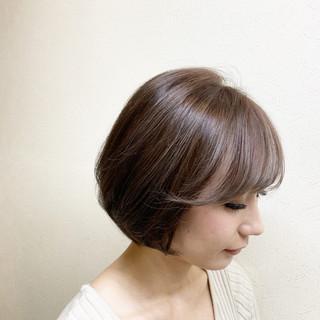 ショート ハイライト 外国人風カラー デート ヘアスタイルや髪型の写真・画像