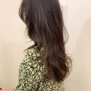 ロング アンニュイほつれヘア ナチュラル 外国人風 ヘアスタイルや髪型の写真・画像