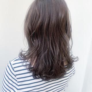 ダブルカラー ブルーアッシュ 透明感カラー 透明感 ヘアスタイルや髪型の写真・画像