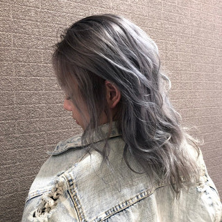 ミディアム ストリート 外国人風 ヘアアレンジ ヘアスタイルや髪型の写真・画像