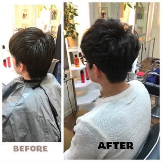 メンズカット メンズパーマ ナチュラル メンズスタイル ヘアスタイルや髪型の写真・画像   白岩美郷 / 美容室Fabric(ファブリック)