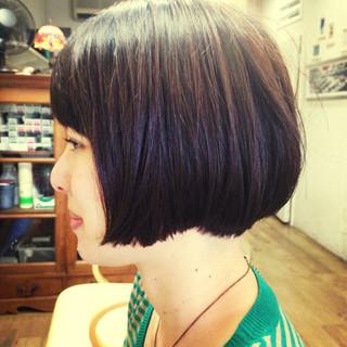 ナチュラル可愛い ボブ ナチュラルグラデーション グラデーションボブ ヘアスタイルや髪型の写真・画像 ヘアスタイルや髪型の写真・画像