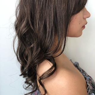 簡単ヘアアレンジ 成人式 デート セミロング ヘアスタイルや髪型の写真・画像