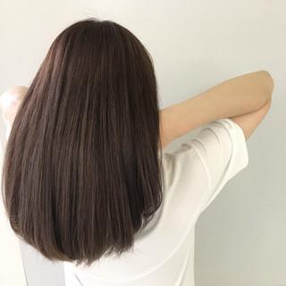 涼しげ 夏 デート 外国人風カラー ヘアスタイルや髪型の写真・画像