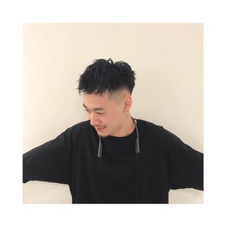 ベリーショート スキンフェード メンズカット ストリート ヘアスタイルや髪型の写真・画像