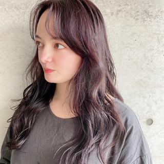 デート 大人ロング モテ髪 ナチュラル ヘアスタイルや髪型の写真・画像