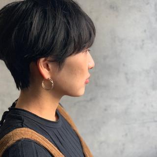 ベリーショート ショート ショートマッシュ ナチュラル ヘアスタイルや髪型の写真・画像
