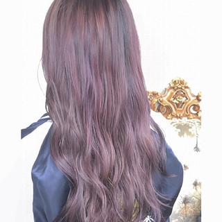 ブリーチ モテ髪 外国人風カラー ガーリー ヘアスタイルや髪型の写真・画像