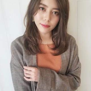 ゆるふわ アンニュイ かわいい 斜め前髪 ヘアスタイルや髪型の写真・画像