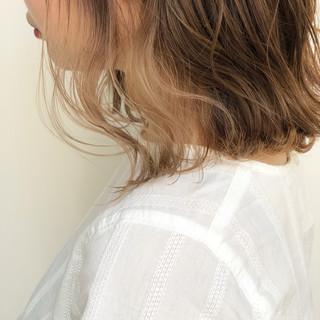 ヌーディベージュ 簡単ヘアアレンジ ミルクティーベージュ ヘアアレンジ ヘアスタイルや髪型の写真・画像