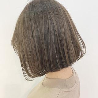 ナチュラル ショートヘア インナーカラー ボブ ヘアスタイルや髪型の写真・画像
