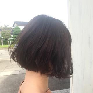 色気 ショートボブ 大人女子 ナチュラル ヘアスタイルや髪型の写真・画像