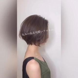 小顔ショート ショートヘア ショート ハンサムショート ヘアスタイルや髪型の写真・画像