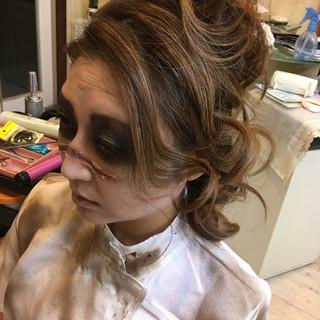 ミディアム ストリート 秋 ハロウィン ヘアスタイルや髪型の写真・画像