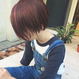 ショート 女子力 簡単ヘアアレンジ パーティ ヘアスタイルや髪型の写真・画像