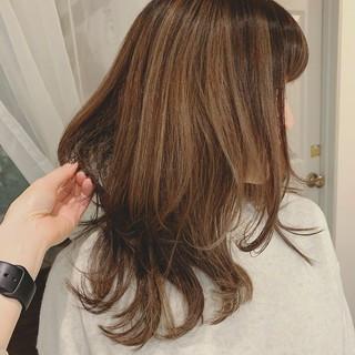 ロング ゆるふわ モテ髪 ナチュラル ヘアスタイルや髪型の写真・画像