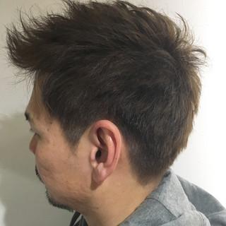 ショート ストリート コントラストハイライト 外国人風 ヘアスタイルや髪型の写真・画像