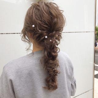 デート 簡単ヘアアレンジ スポーツ 結婚式 ヘアスタイルや髪型の写真・画像 ヘアスタイルや髪型の写真・画像