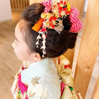 モード 和装ヘア ヘアアレンジ 和装髪型 ヘアスタイルや髪型の写真・画像