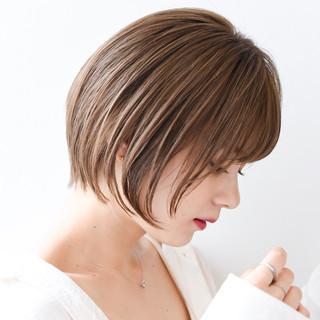 ナチュラル ショート ショートヘア ヘアスタイル ヘアスタイルや髪型の写真・画像