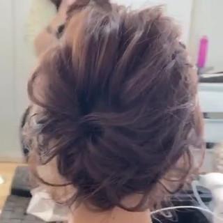 デート フェミニン れんちゃんアレンジ ボブ ヘアスタイルや髪型の写真・画像 ヘアスタイルや髪型の写真・画像