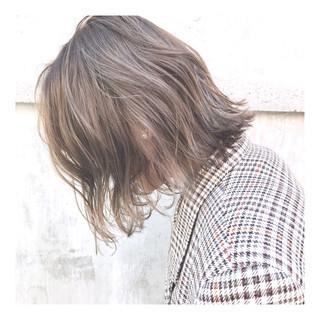 ストリート ハイトーン ボブ ショートヘア ヘアスタイルや髪型の写真・画像