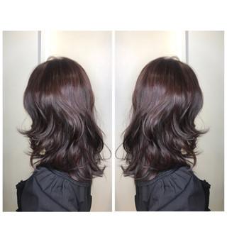ボブ ピンク ナチュラル ローライト ヘアスタイルや髪型の写真・画像