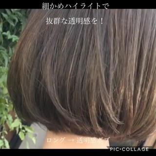 大人女子 ナチュラル 色気 ボブ ヘアスタイルや髪型の写真・画像
