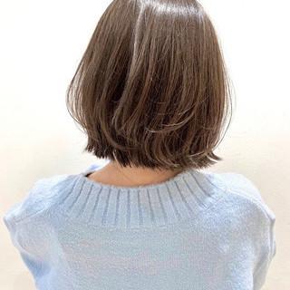 シアーベージュ 3Dハイライト 極細ハイライト アッシュグレージュ ヘアスタイルや髪型の写真・画像