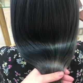 モテ髪 セミロング 愛され 艶髪 ヘアスタイルや髪型の写真・画像