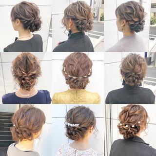 ロング 結婚式 ナチュラル ヘアアレンジ ヘアスタイルや髪型の写真・画像 ヘアスタイルや髪型の写真・画像
