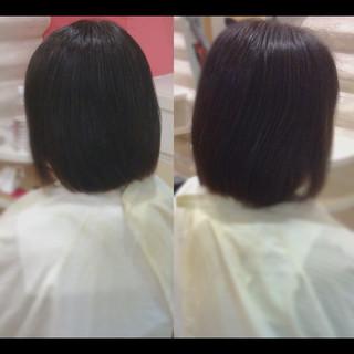 艶髪 社会人の味方 髪質改善カラー 髪質改善 ヘアスタイルや髪型の写真・画像
